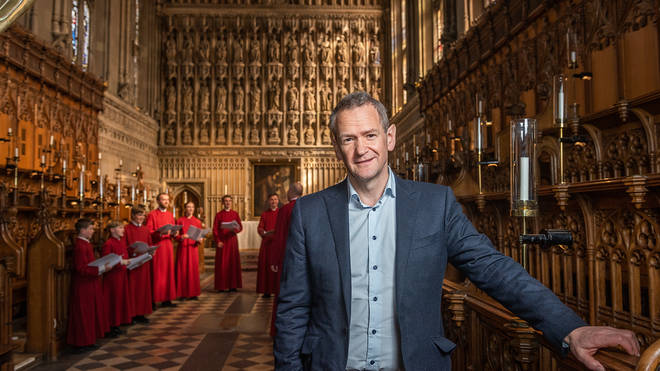 Alexander Armstrong announced as new ambassador for Cathedral Music Trust.
