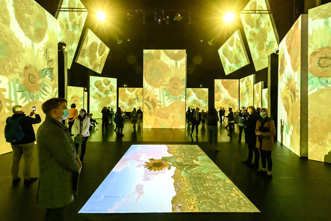 Van Gogh Alive at Birmingham Hippodrome
