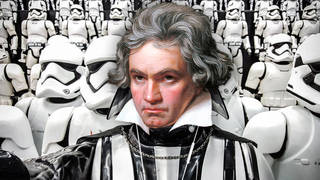 Star Wars Imperial March in the style of Beethoven