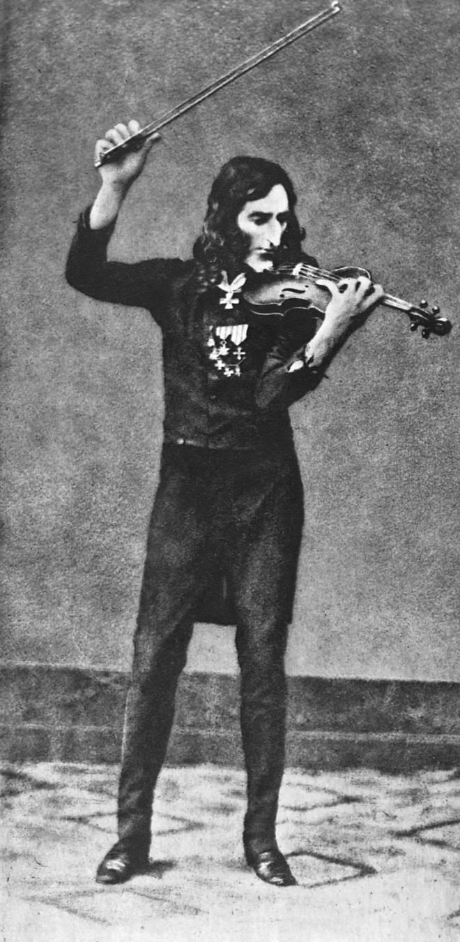 Did Paganini, the great virtuoso violinist, sell his soul to