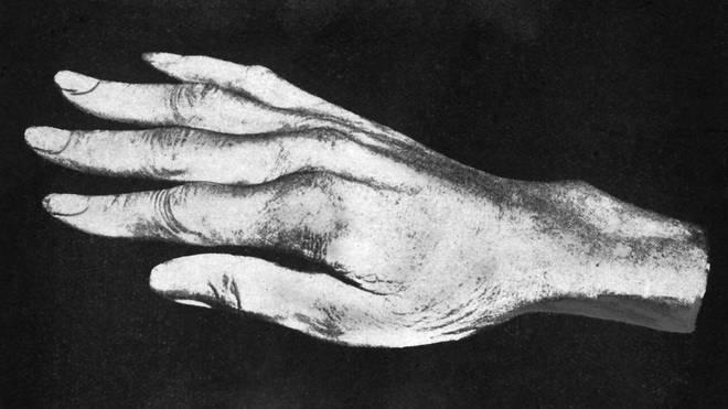 A replica of Paganini's hand