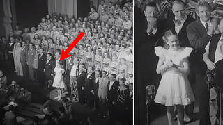 The time a 13-year-old Julie Andrews sang the national anthem for King George VI