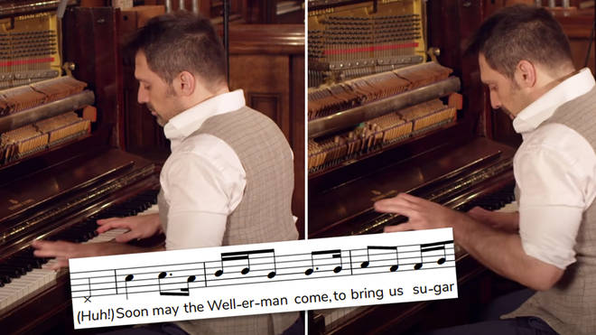 'The Wellerman', but it's ragtime