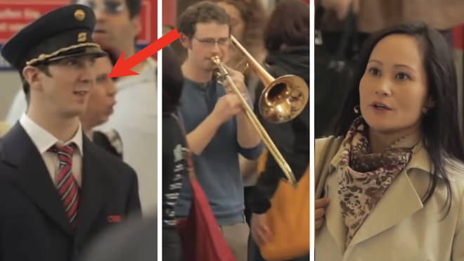 Spectacular Carmina Burana flashmob brings train station to a shuddering halt in blaze of music