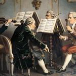 Classical era music – an 18th-century string quartet