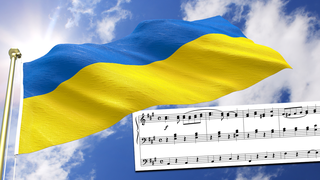 What are the lyrics to the Ukraine's national anthem, 'State Anthem of Ukraine'?