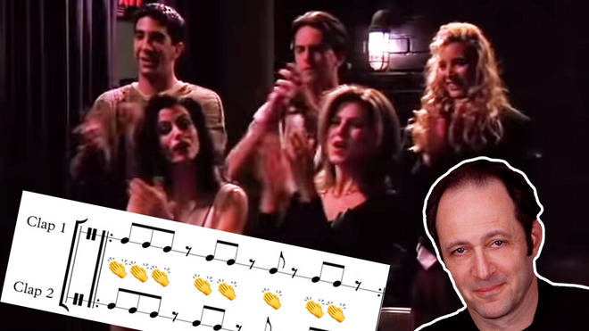 The 'Friends' theme, but it's Steve Reich's Clapping Music