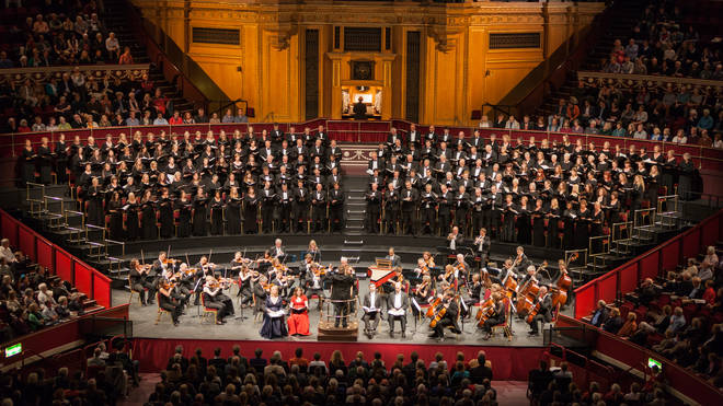 The Royal Choral Society usually performs Handel's Messiah at the Royal Albert Hall every Good Friday, an Easter tradition dating from 1876.