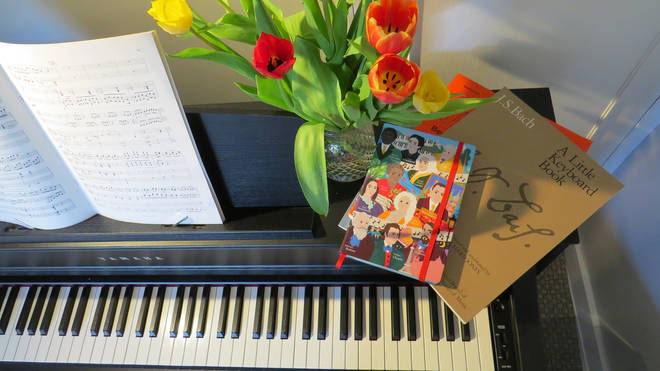 Classic FM's limited edition 'Great Composers' charity notebook