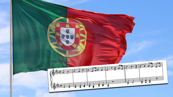 What are the lyrics to Portugal's national anthem?