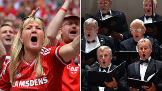 '10,000 singing football fans, but only 6 in a choir?' – amateur choirs react to COVID rules