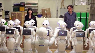 Robot choir sings Beethoven's 'Choral' Symphony in harmony