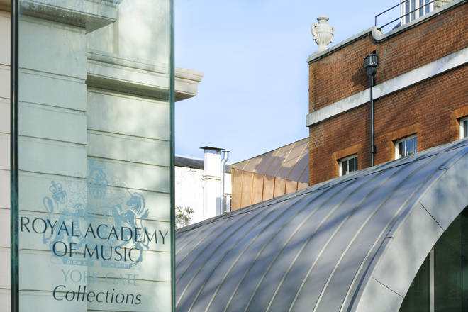 The Royal Academy of Music has a collection of 22,000 historic musical artefacts