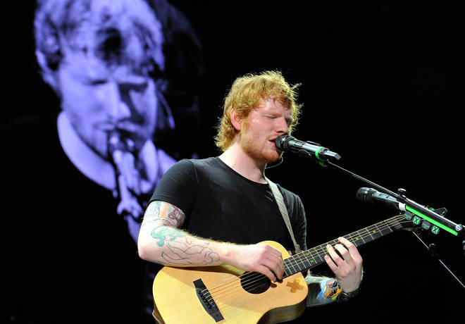 Ed Sheeran used to sing in his local church choir