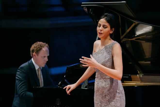 Fatma Said and Joseph Middleton perform at Leeds Town Hall in March