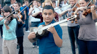 This utterly joyous Mozart flashmob on the streets of Prague is why we need music in our lives