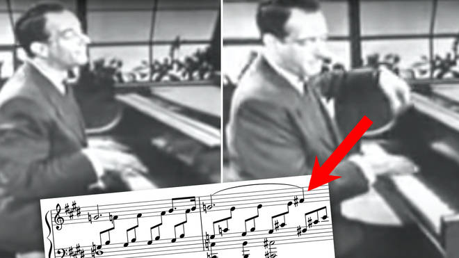 Comic piano genius Victor Borge blends Beethoven with 'Happy Birthday'