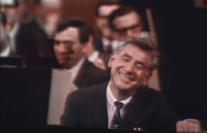 Bernstein introduced young people to classical music in a relaxed environment