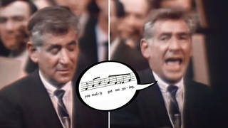 When Leonard Bernstein sang the Beatles and the Kinks to elegantly teach the 'Mixolydian' mode in music