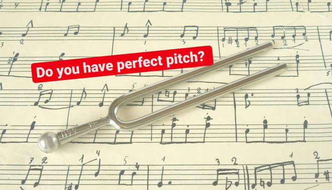 Perfect pitch quiz