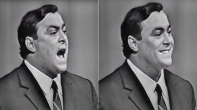 The fresh voice of a 28-year-old Luciano Pavarotti