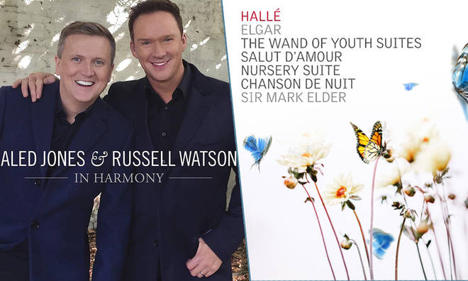 New Releases: Aled Jones and Russell Watson – In Harmony, Hallé & Sir Mark Elder – Elgar 'Wand of Youth'