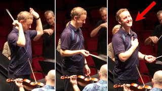 Florida orchestra expertly pranked their British conductor who was expecting 'The Star-Spangled Banner'