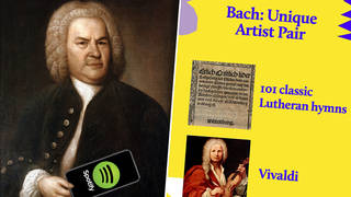 Spotify Only You: here's what Bach's Unique Pair would be