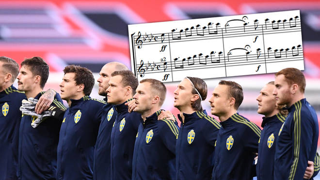 Does Sweden have a national anthem, and what are the lyrics to the country's song?