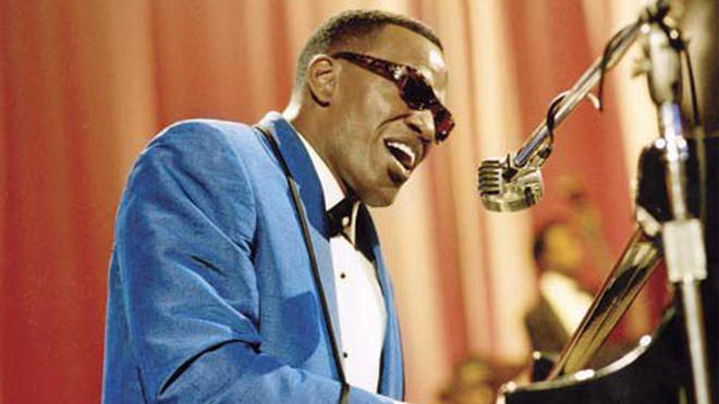 Jamie Foxx as Ray Charles in 'Ray'