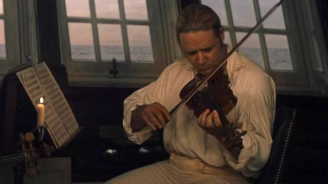 Russell Crowe learned the violin for his role in Master and Commander