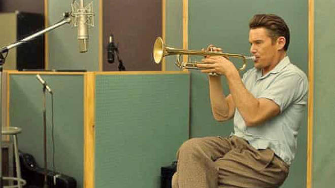 Ethan Hawke plays Chet Baker in Born to be Blue