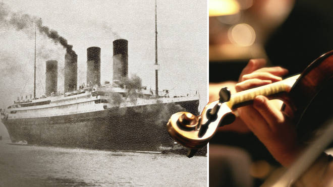The story of the orchestra that was meant to play on the Titanic