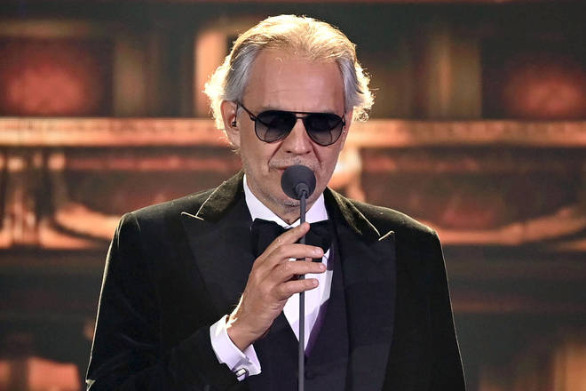 Andrea Bocelli announces UK and Ireland tour for 2022