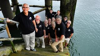 Choir greet G7 Summit leaders in Cornwall with sea shanties by the sea