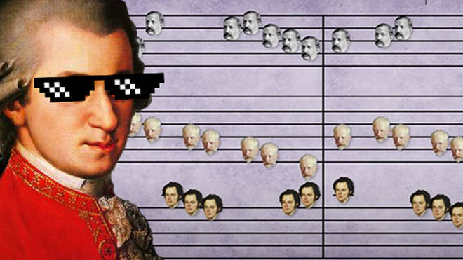 A genius has created a classical music mashup of 70 pieces by famous composers