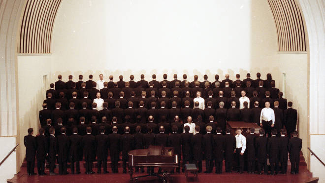 The San Francisco Gay Men's Chorus, May 1993 Demonstrating the impact of AIDS to the members of the chorus