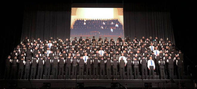 San Francisco Gay Men's Chorus photo, recreated in 2018