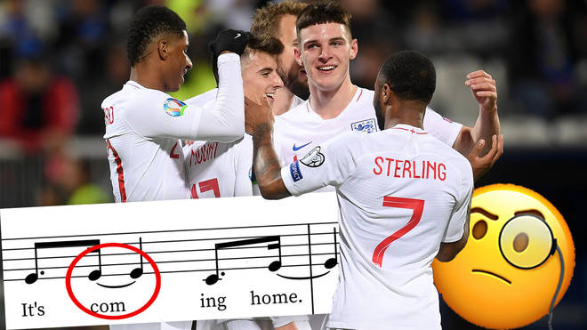A detailed musical analysis of England's popular football anthem, 'Three Lions'
