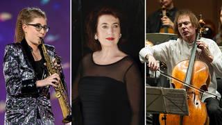 Jess Gillam, Imogen Cooper and Julian Lloyd Webber named in Queen's Birthday Honours 2021