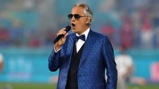 Andrea Bocelli performs emotional 'Nessun dorma' at Euros 2020