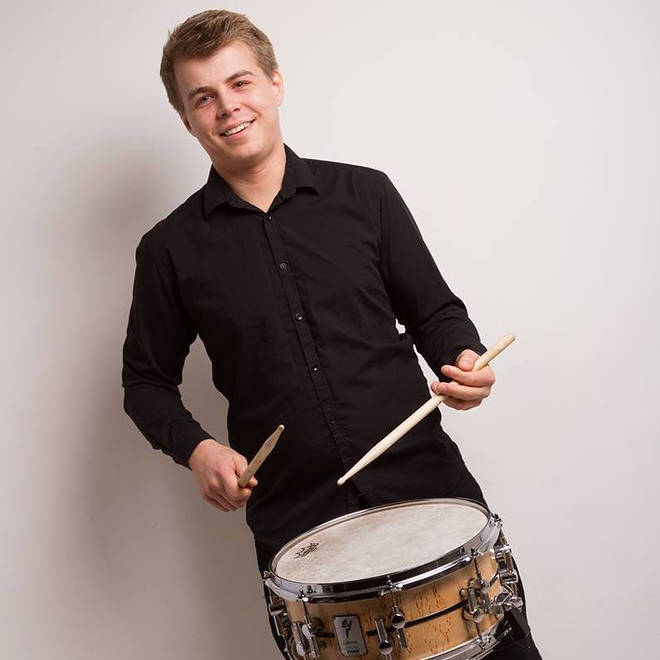 Percussionist Alan Drever-Smith was on hold for 40 minutes when he transcribed the music
