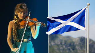 Nicky Benedetti plays Scottish National Anthem at Glasgow Games opening ceremony