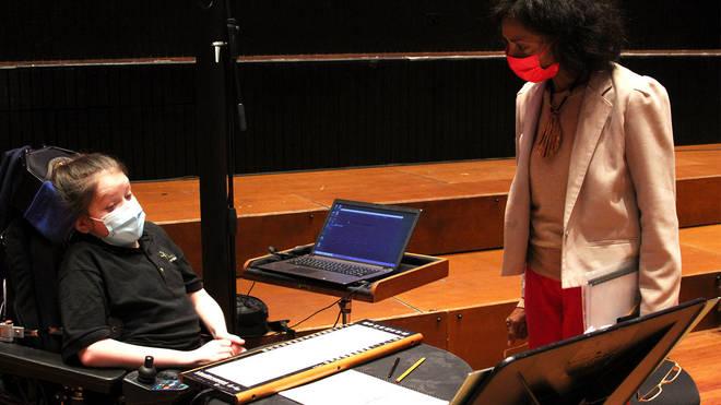 Shirley J Thompson meets BSO Resound LinnStrument player Sally