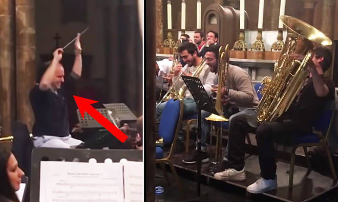Orchestra pranks conductor by interrupting Prokofiev with Star Wars