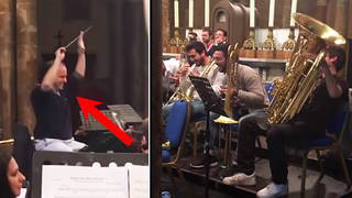 Orchestra interrupts Prokofiev with Star Wars' 'Imperial March', in hilarious prank on conductor