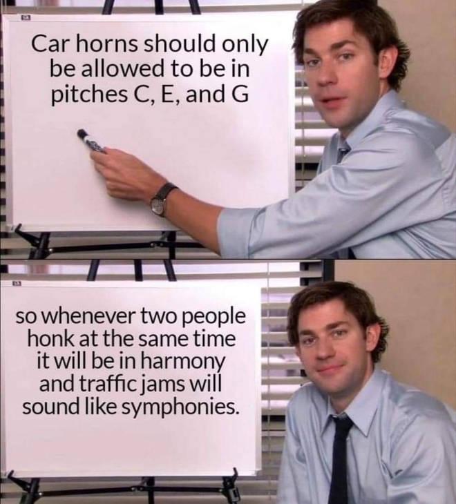 Car horns The Office