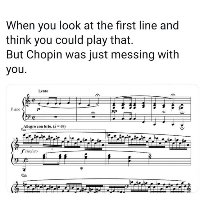 Chopin line