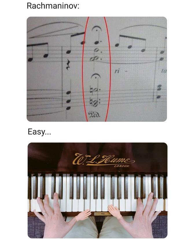 Rachmaninov mini hands