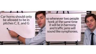 Car horn symphony meme